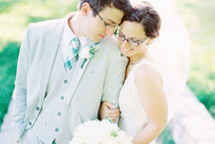 Wearing Glasses On Your Wedding Day