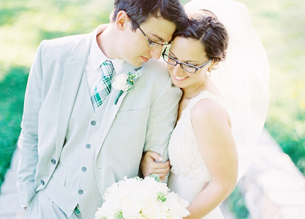 Wearing Glasses On Your Wedding Day Confetti Co Uk