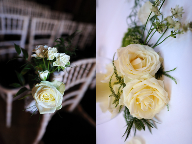 Ceremony Room Roses Decor