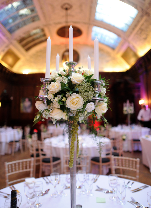 Wedding Rose Table Centrepieces