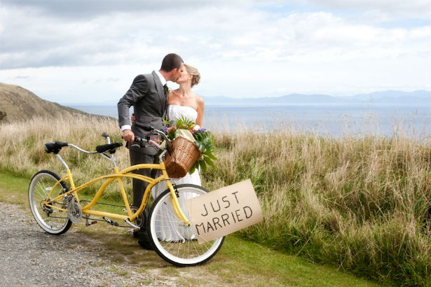 Tandem Just Married