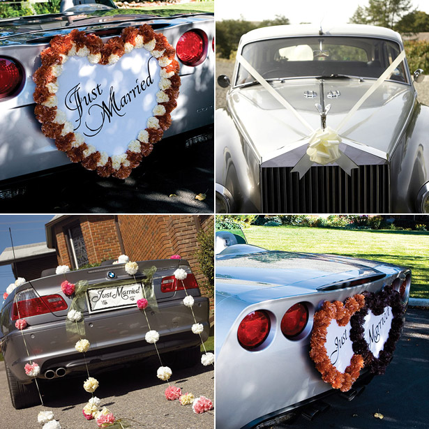 Wedding Car Decorations Confetti