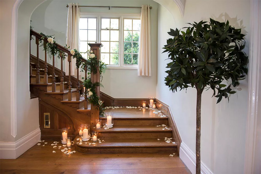 Silchester House Intimate Wedding Venue for Small Weddings with English Country Garden   Confetti.co.uk