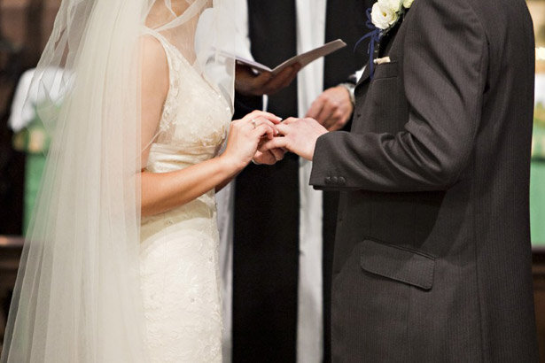The start of a happy marriage, from Anna and Gavin's Real Wedding in Secrets of a Happy Marriage | Confetti.co.uk