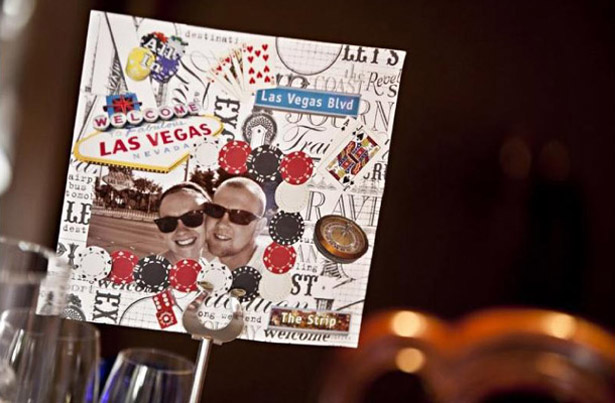 Las Vegas table numbers