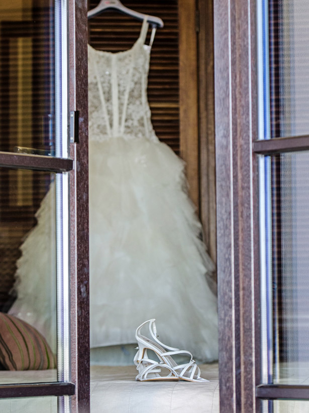 Bridal gown by Cymbeline