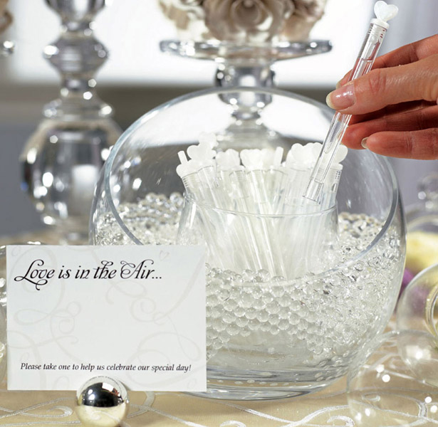 Wedding Love Bubble Favour Wands