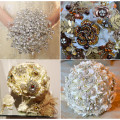 jewelled sparkly bouquets