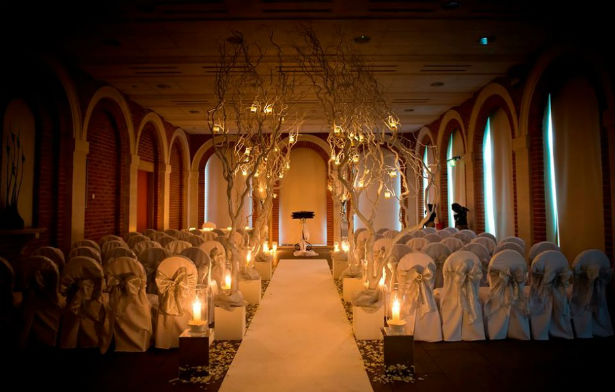 A winter wedding at Great Fosters