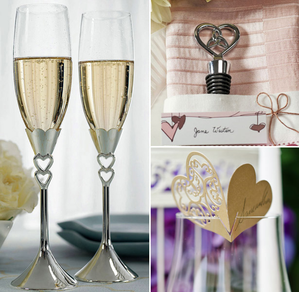 Heart inspired drinking accessories