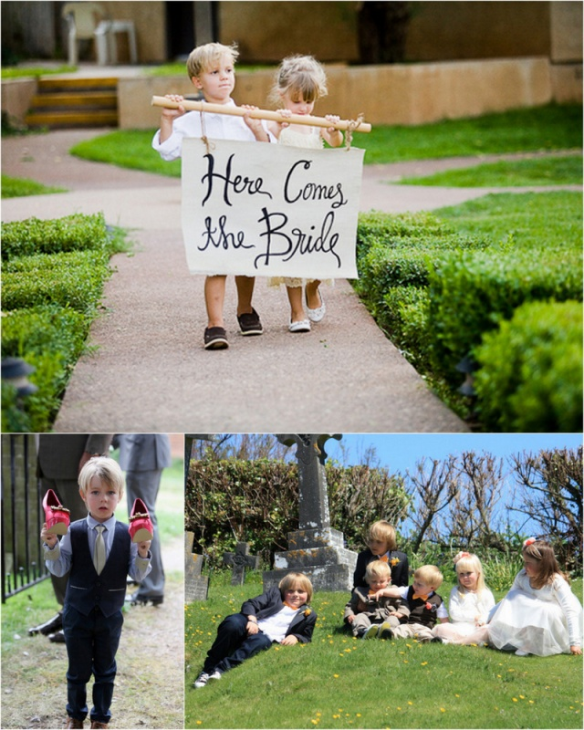 Moodboard wedding day children's activities mood board