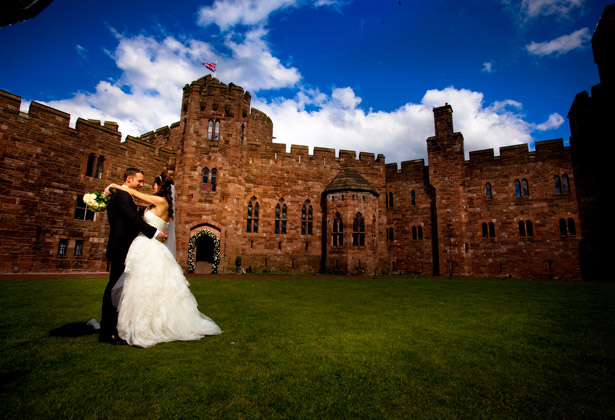 Laura and Kenneth Real Fairytale Wedding at Peckforton ...