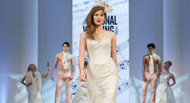 NWS National Wedding Show catwalk