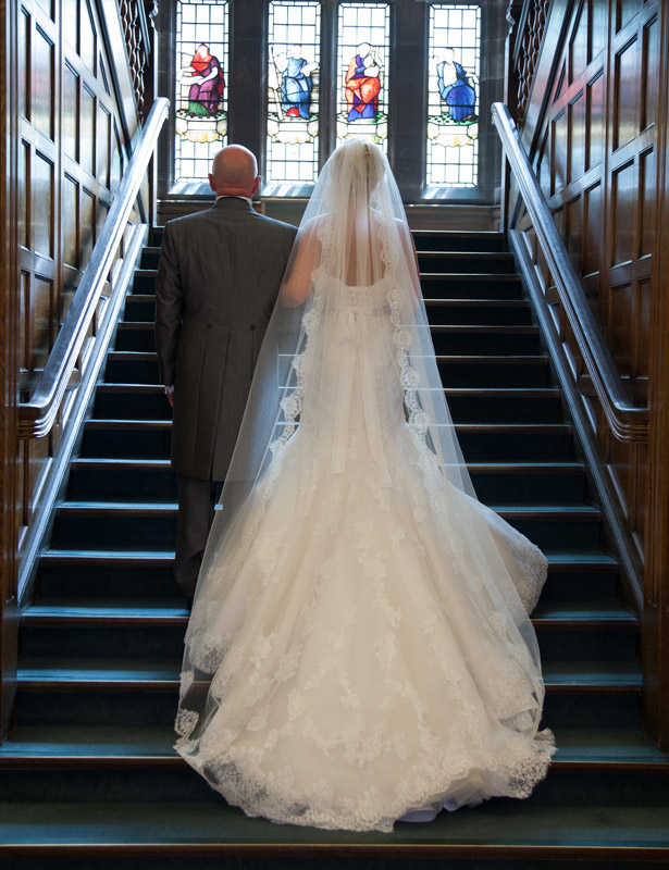 The-bride-on-her-way-to-the-ceremony