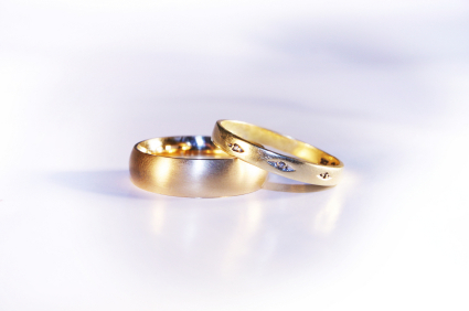 Two Matching Gold Rings