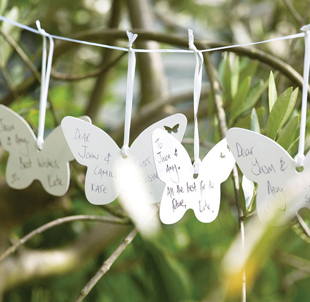 butterflies theme wedding wishes