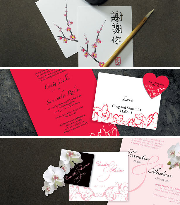 Contemporary & Class Wedding Stationery
