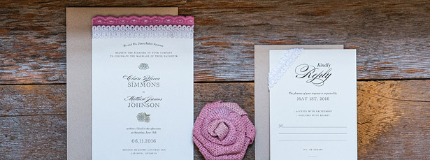 Burlap Chic Stationery Collection