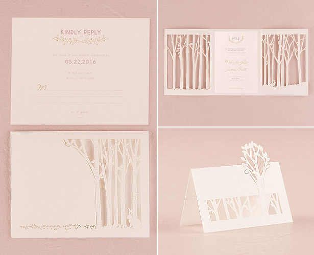 Personalised Wedding Invitations