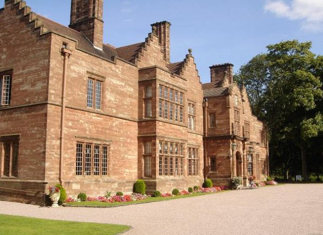 Wrenbury Hall Wedding Venue Exterior