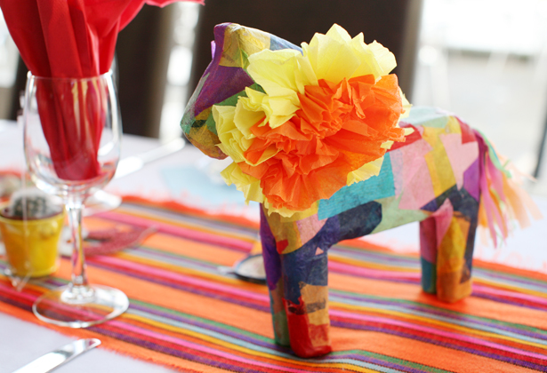 Mexican themed reception 3