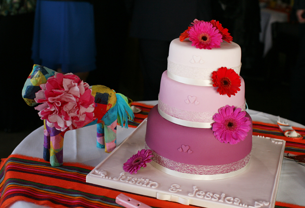 Mexican themed reception 8