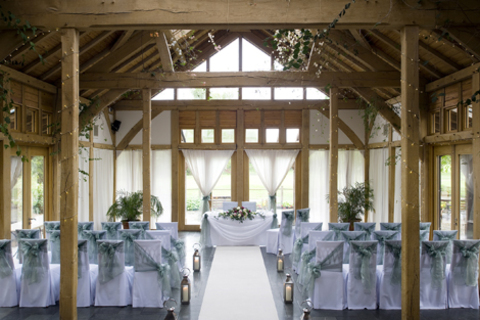 The Oak Tree of Peover Wedding Venue Ceremony Room