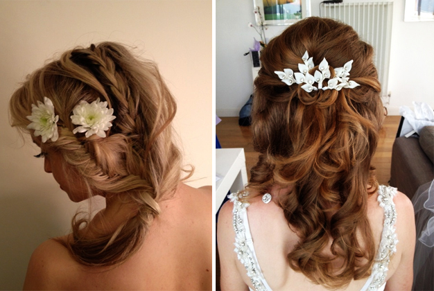 Bridal wedding hairstyles selection 2014