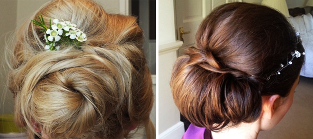 Weddings 2014 bun hairstyle inspiration for brides