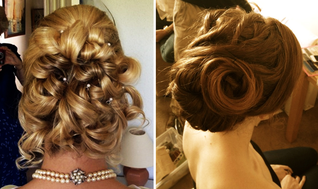Up-do wedding hairstyle inspiration for brides 2014