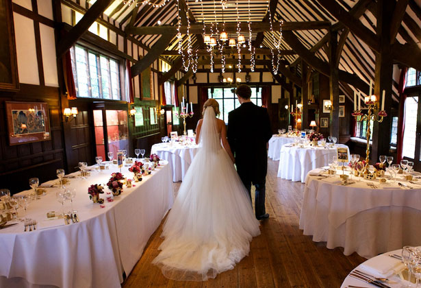 Wedding reception at  Ramster Hall