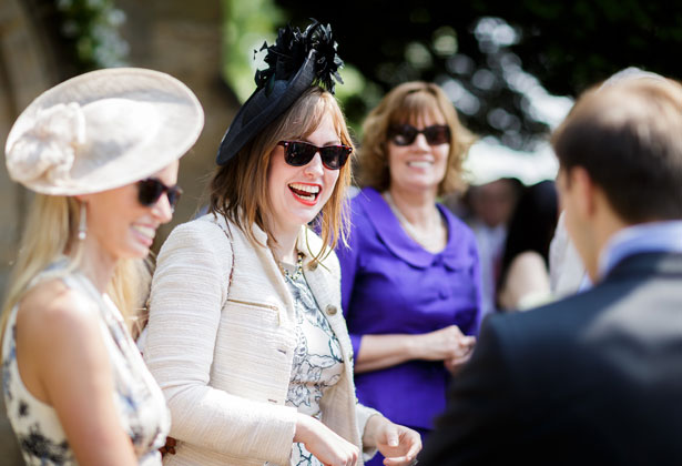 Wedding guests by Douglas Fry Photography