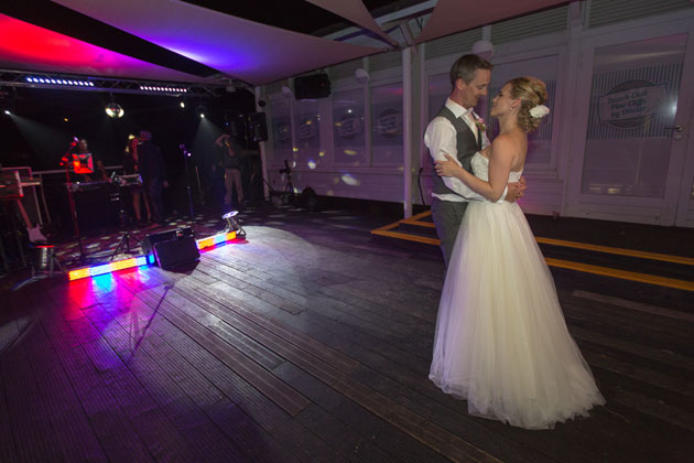 First dance to Who is the lucky one? By Paddy Casey
