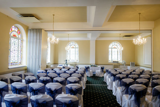 Civil ceremony at Glenmore House, Surbiton, Surrey