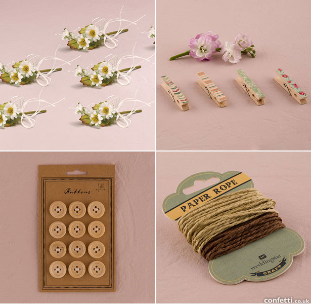 DIY Favour Accessories