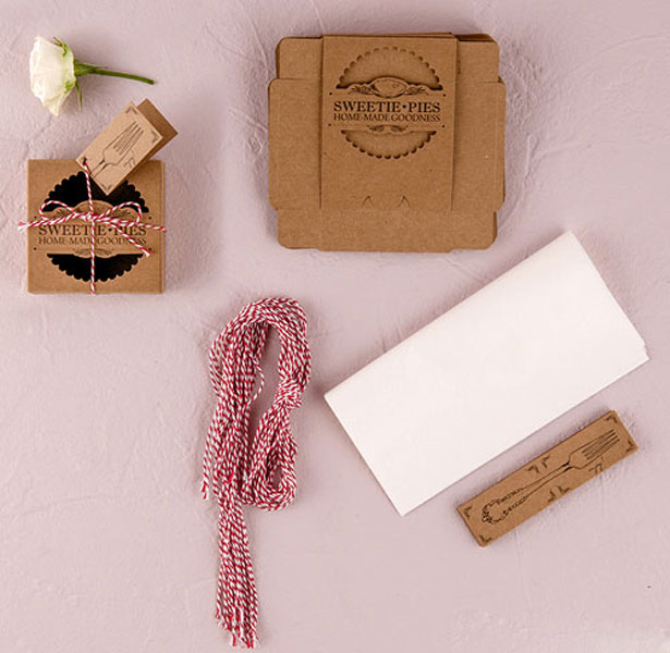 DIY Mini Pie Packaging Kits