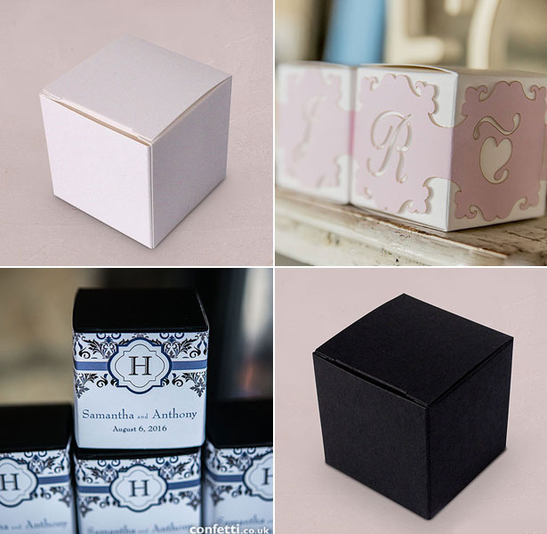 DIY Personalised Favour Boxes