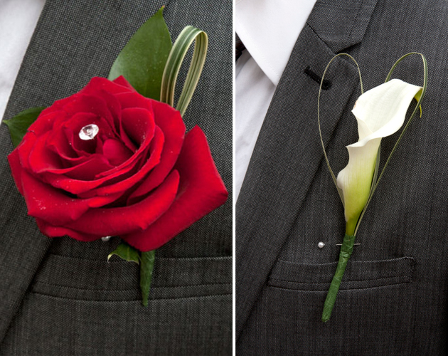 Fusions Wedding Flowers for men Buttonholes