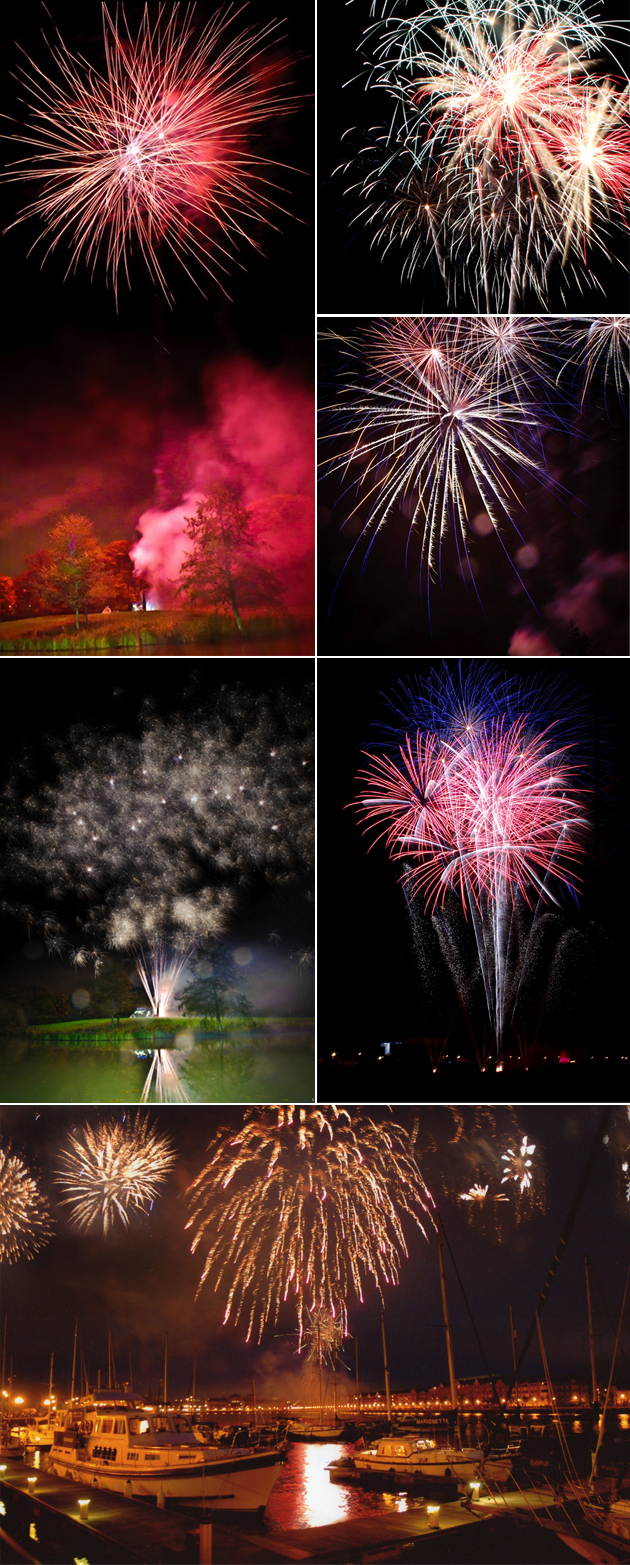 Wedding Reception Fireworks Displays