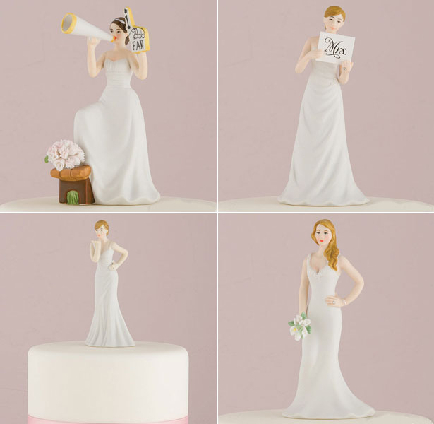 Mix-and-match-brirde-cake-toppers