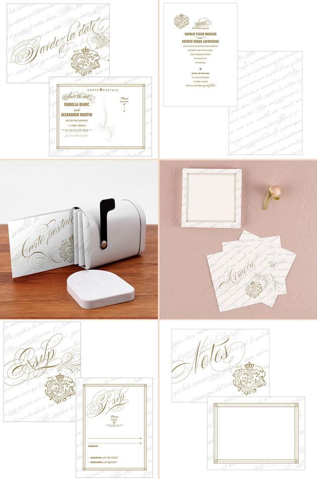 Parisian Love Letter Stationery