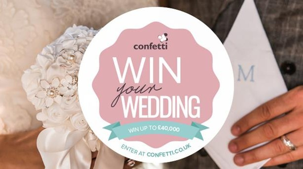 Win Your Dream Wedding with Confetti.co.uk