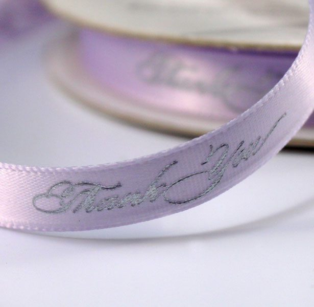 "Purple ""Thank You"" Ribbon"