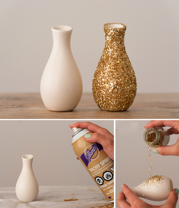 Glitter Vase | Confetti.co.uk