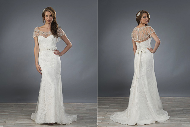 Alfred Angelo Style 2479 - Vintage Stripes