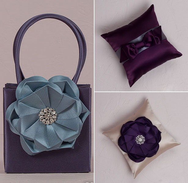 Purple Wedding Ceremony Accessories