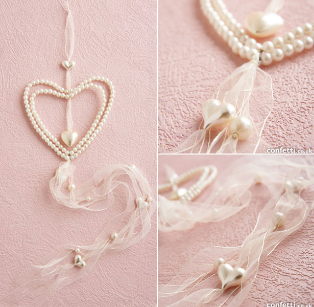 Double Heart Hanger Garland