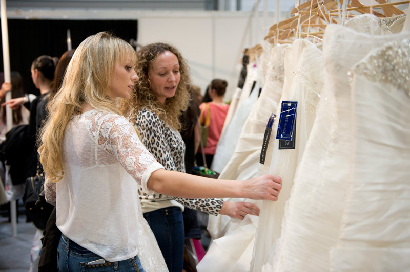 Dresses at The UK Wedding Show