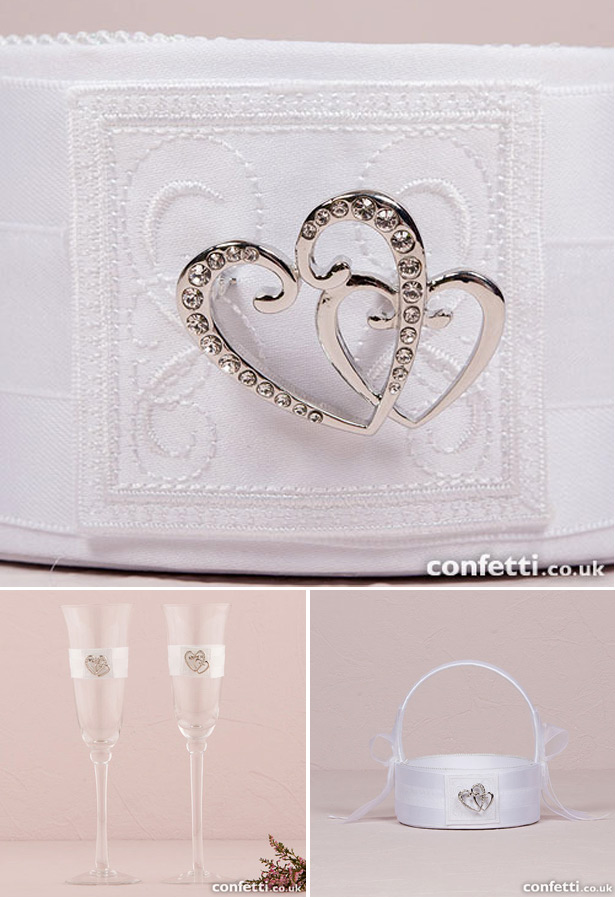 Classic Double Heart Wedding Collection