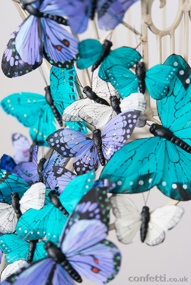 DIY Article Butterfly Close Up